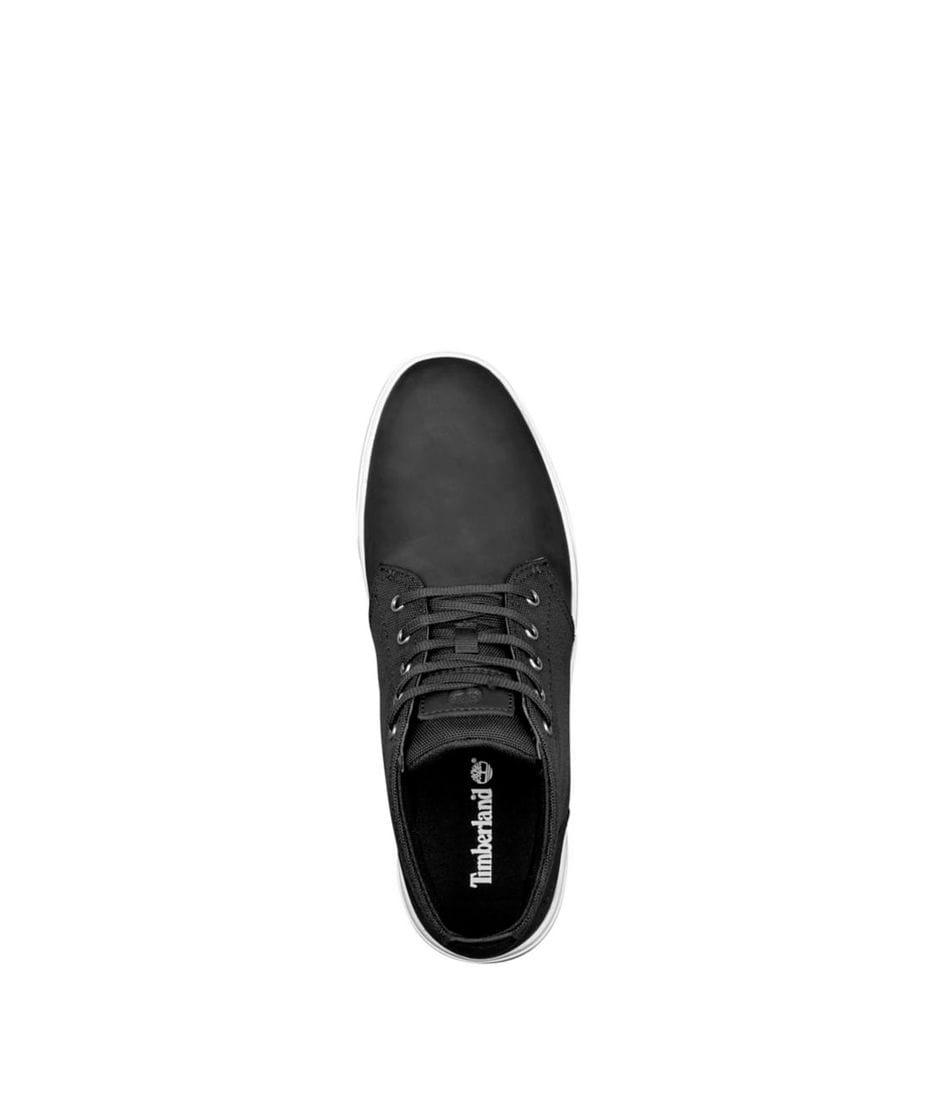 Timberland Men s Groveton Chukka Shoes in Black NubuckCanvas