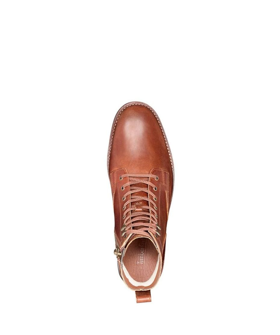 432ca93a328ddb ... Timberland Men's Kendrick Side Zip Boot Tan Old Harness in Light Brown