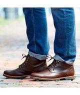 Timberland Men's Kendrick Waterproof Chukka Boots in Dark Brown