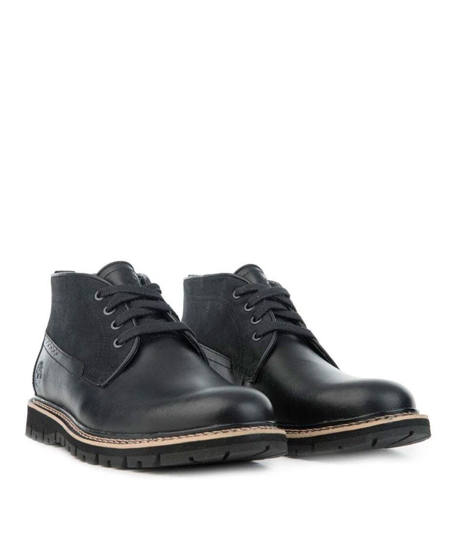 Timberland Men's Britton Hill Waterproof Chukka Shoes in Black