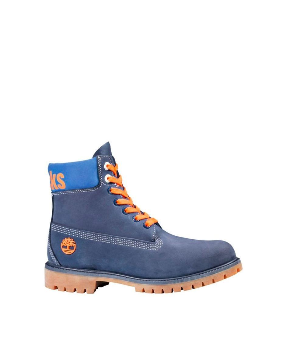 Timberland Men's X NBA New York Knicks Boots In Dark Blue