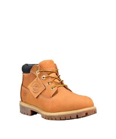 Timberland Men's Premium Waterproof Chukka Boots in Wheat Nubuck