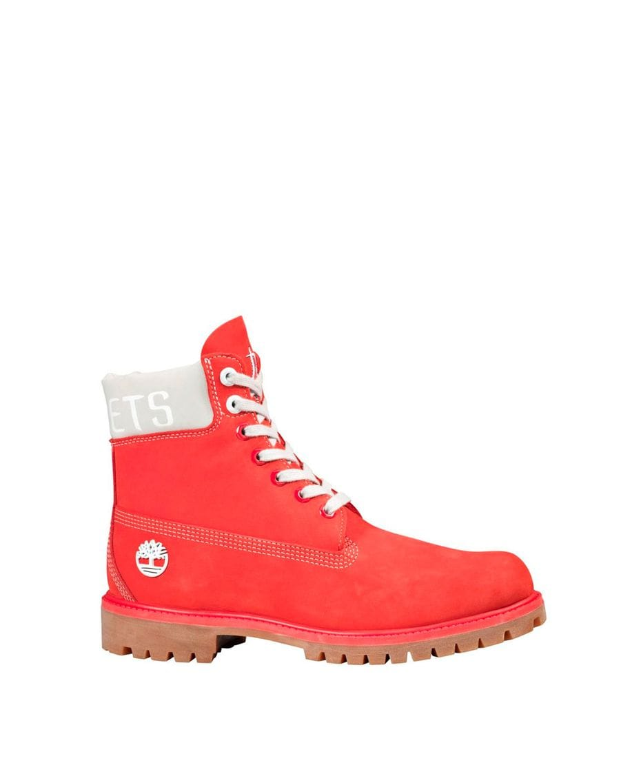 Timberland Men's X NBA Houston Rockets Team Boots In Red