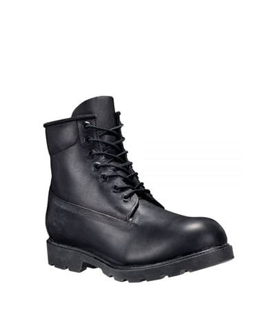Timberland Men's 6-Inch Classic Waterproof Boots in Black Smooth