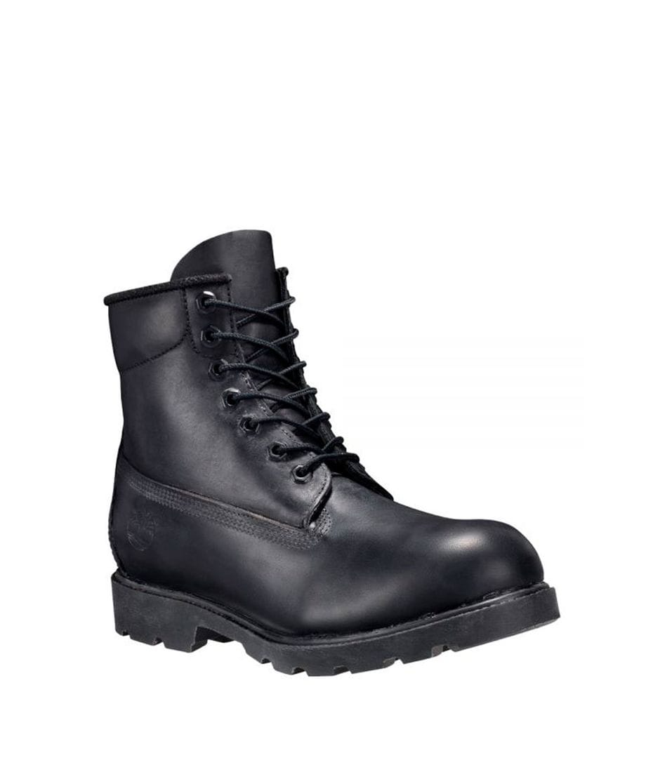 Timberland Men s 6 Inch Classic Waterproof Boots in Black Smooth
