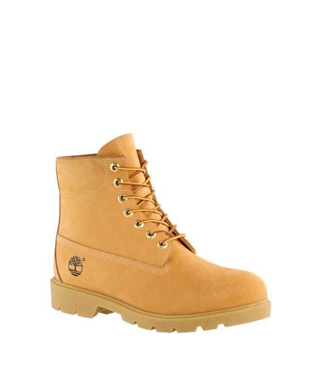 Timberland Men's Icon 6-in Classic Waterproof Boot in Wheat Nubuck