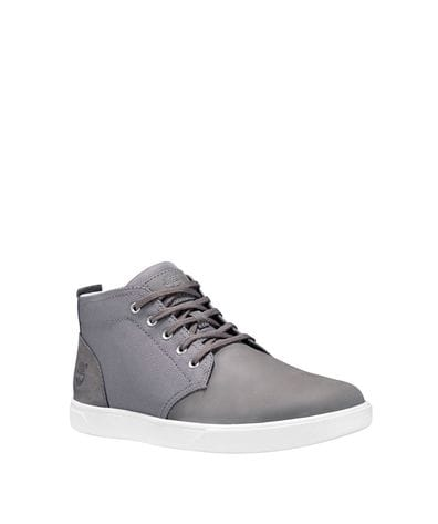Timberland Men's Groveton Chukka Shoes in Mid Grey