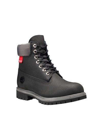 Timberland Men's Helcor® Leather 6-in Premium Waterproof Boot in Black