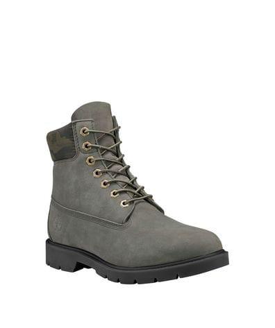 Timberland Men's 6-Inch Classic Waterproof Boots in Dark Green Nubuck
