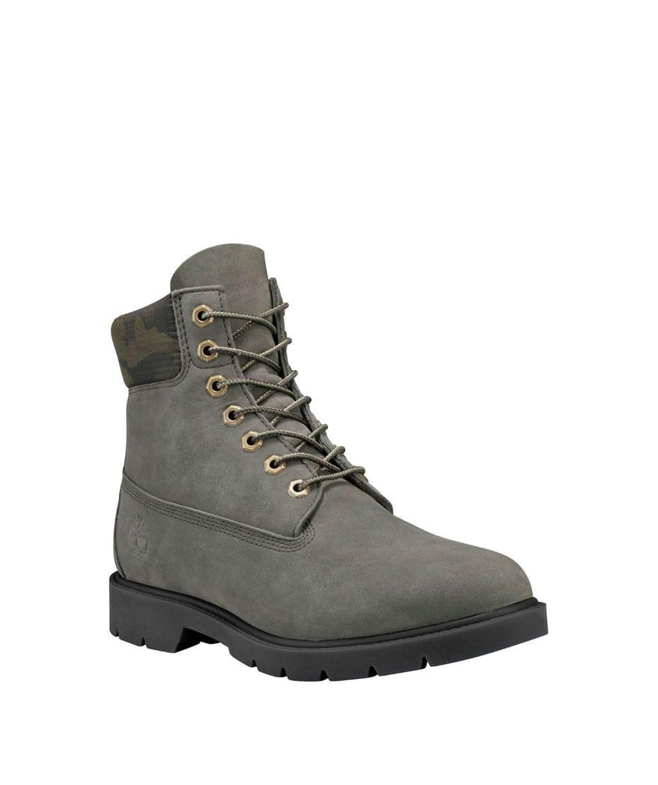 4e02e3b3c29d Timberland Men s 6-Inch Classic Waterproof Boots in Dark Green Nubuck
