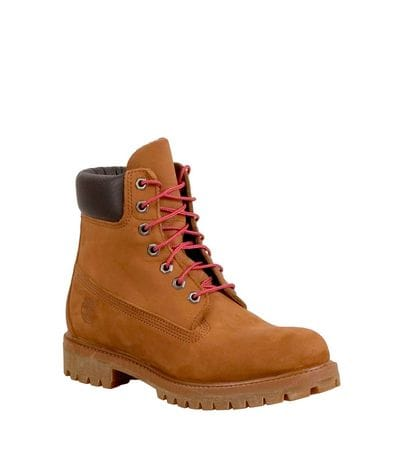Timberland Men's 6 in Premium Boot Tundra Waterbuck in Mid Brown