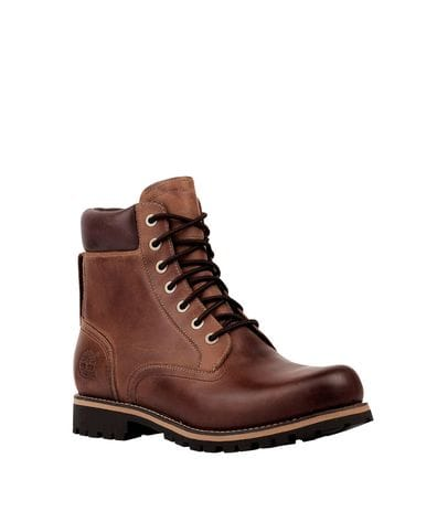 Timberland Men's Rugged 6-in Waterproof Boots in Copper Roughcut