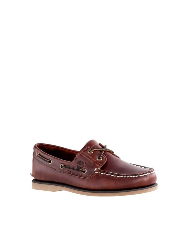 Timberland Men's 2-Eye Boat Shoes in Brown