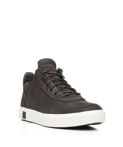Timberland Men's Amherst High Top Chukka in Dark Grey
