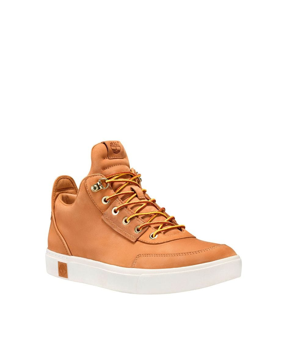 ea990e47f341 Timberland Men s Amherst High Top Chukka in Wheat Nubuck