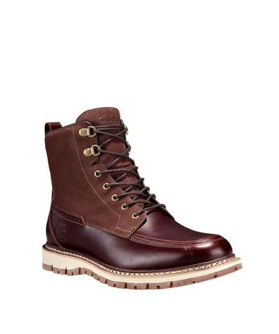 Timberland Men's Britton Hill Waterproof Toe Boot in Brown