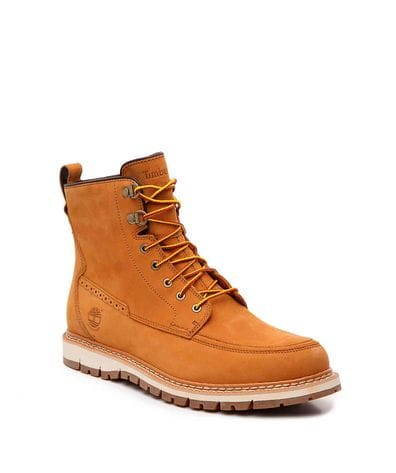 Timberland Men's Britton Hill Waterproof Toe Boot in Wheat