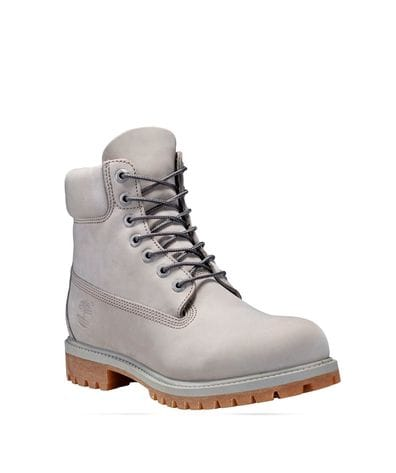 Timberland Men's Icon 6-in Premium Waterproof Boot in Light Grey
