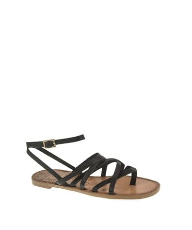 Chinese Laundry Women's Gia Strappy Cage Sandal in Black