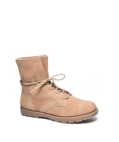 Dirty Laundry Women's Next Up Combat Boot in Camel