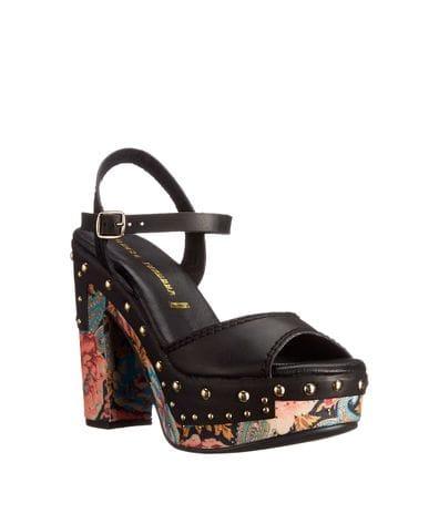 Chinese Laundry Womens Callista Summer Platform Sandal in Black