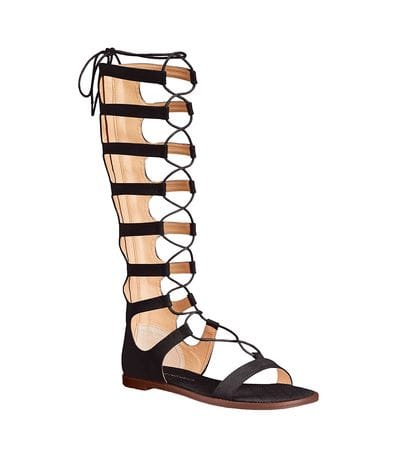 Chinese Laundry Womens Galactic Gladiator Sandal in Black