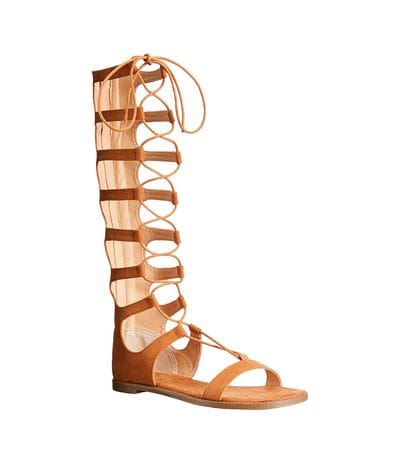 Chinese Laundry Womens Galactic Gladiator Sandal in Cocoa Brown