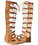 Galactic Micro SU Gladiator Sandal in Cocoa Brown