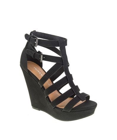 Chinese Laundry Women's Mali Wedge Sandal in Black