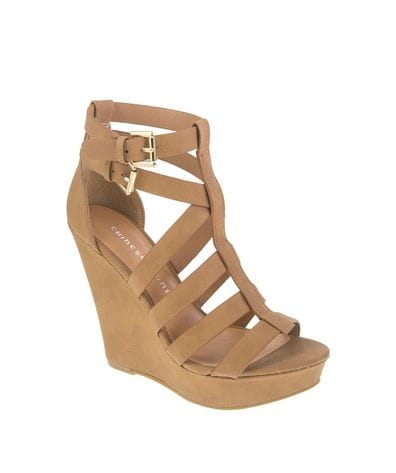 Chinese Laundry Women's Mali Wedge Sandal in Camel