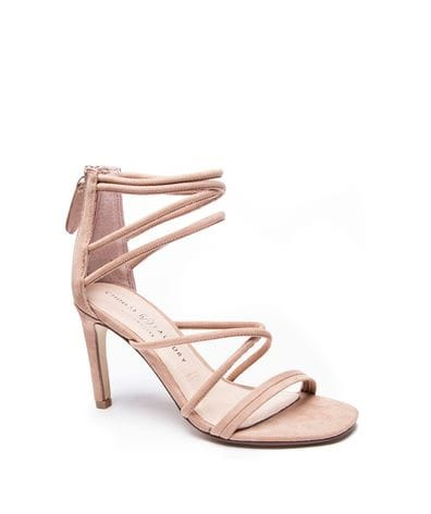 Chinese Laundry Women's Sheena Micro Sued Dress Sandal in Nude