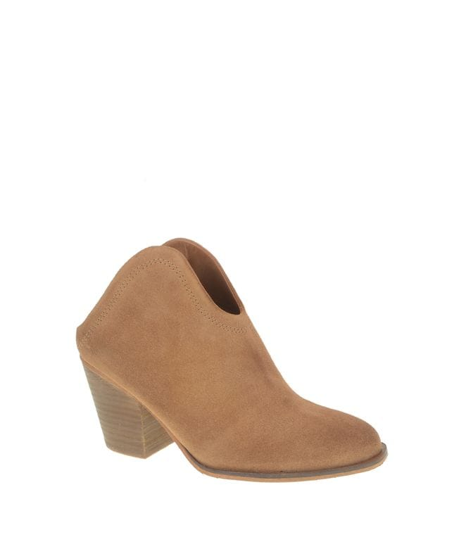 Chinese Laundry Kelso Women's Split Suede Boot in Caramel