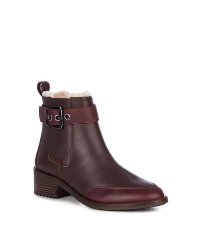 EMU Australia Medlow Women's Deluxe Wool Boot Waterproof in Claret