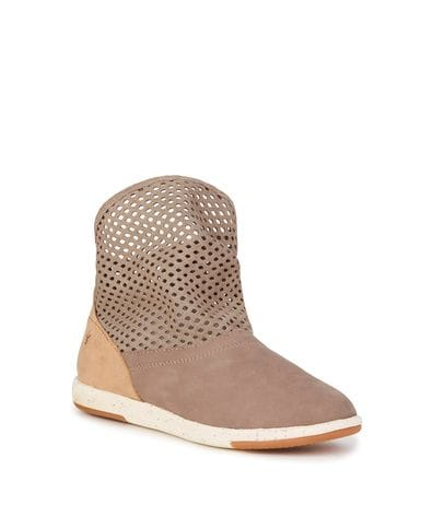 EMU Australia Numeralla Women's Natural Leather Booties in Mushroom