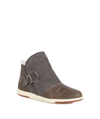 EMU Australia Bardo Women's Cow Suede Boot  in Charcoal