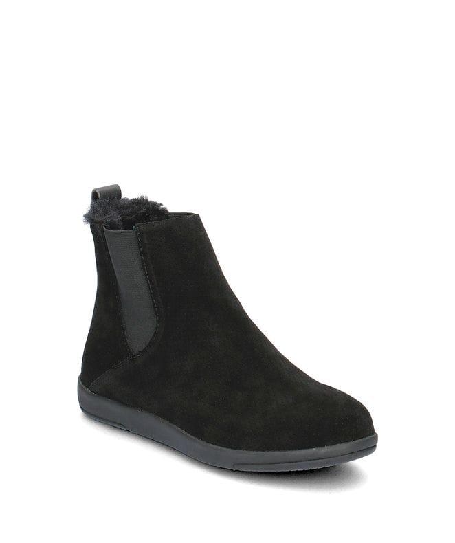 EMU Australia Chelsea Women's Natural Suede Boot in Black