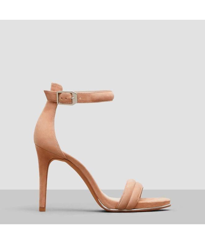 Kenneth Cole Brooke Women's Suede Heel in Buff