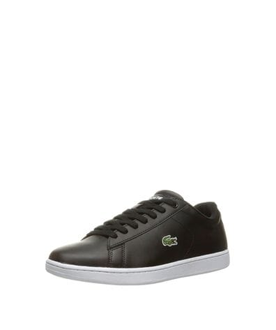 Lacoste Women's Carnaby Evo Fashion Sneaker in Black