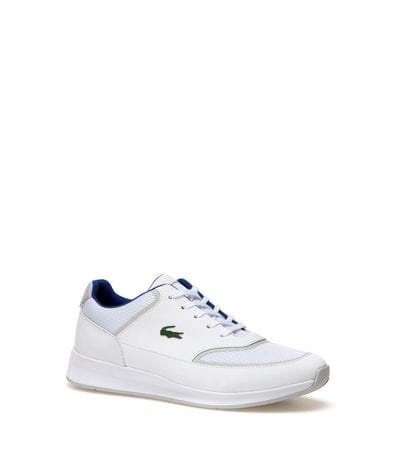 Lacoste Women's Chaumont Lace Fashion Sneaker in White
