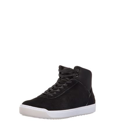 Lacoste Women's Explorateur Ankle Caw Fashion Sneaker in Black