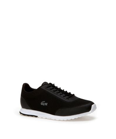 Lacoste Women's Helaine Runner Fashion Sneaker in Black