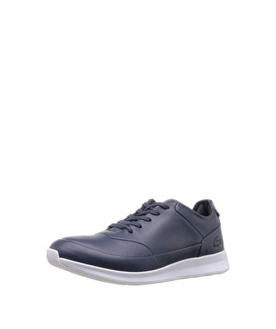 Lacoste Women's Joggeur Lace Caw Fashion Sneaker in Navy