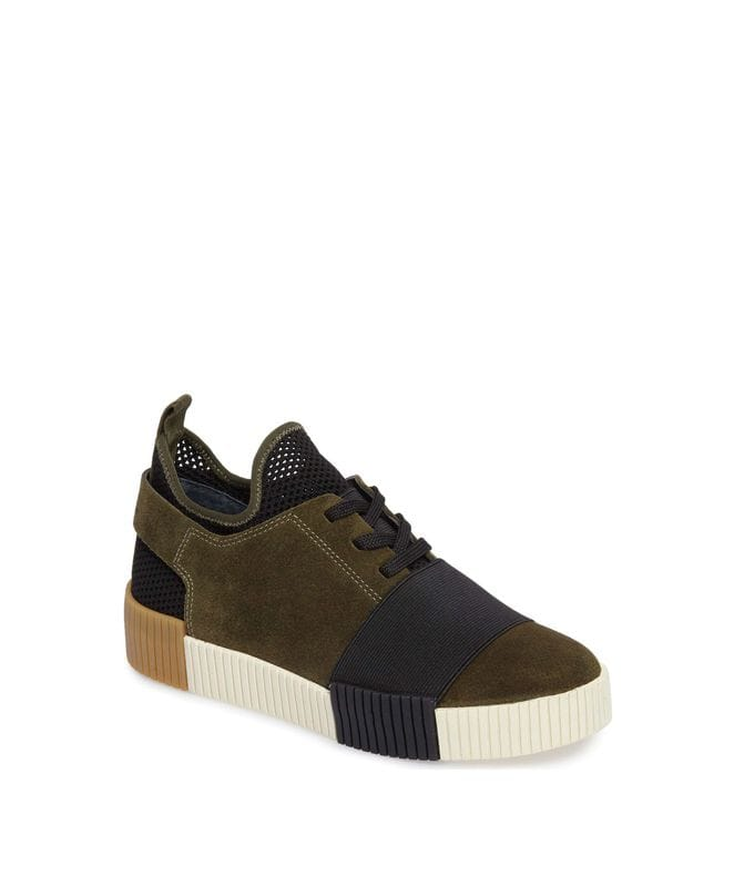 Marc Fisher LTD Ryley Platform Sneaker in Green Multi