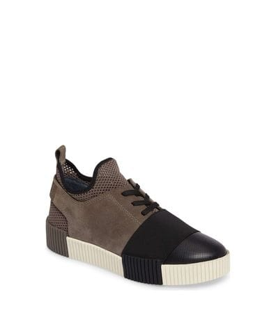 Marc Fisher LTD Ryley Platform Sneaker in Grey Multi