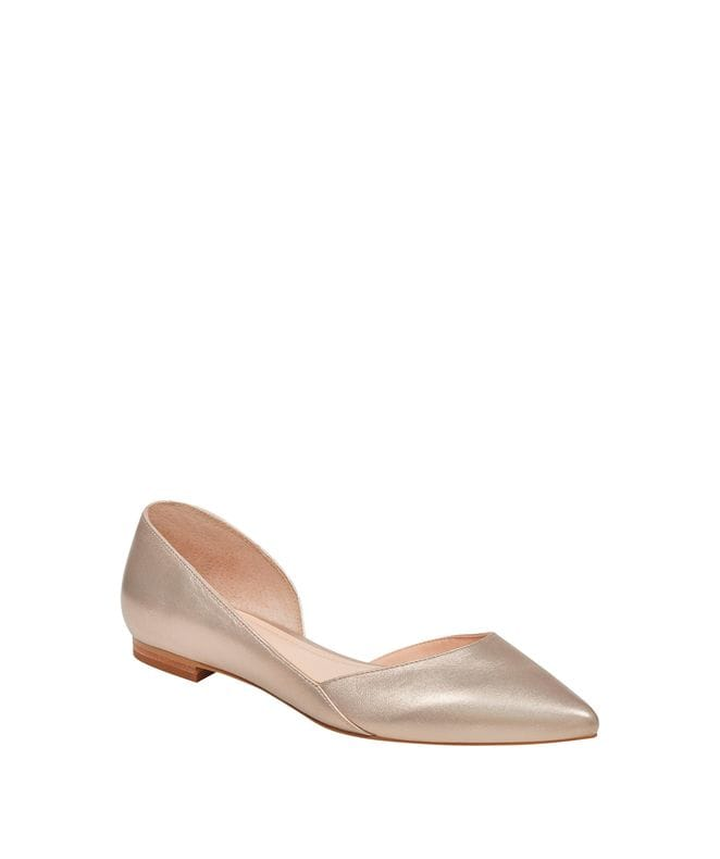Marc Fisher Sunny 4 Women's Piece Pointed Toe Flat in Light Pink