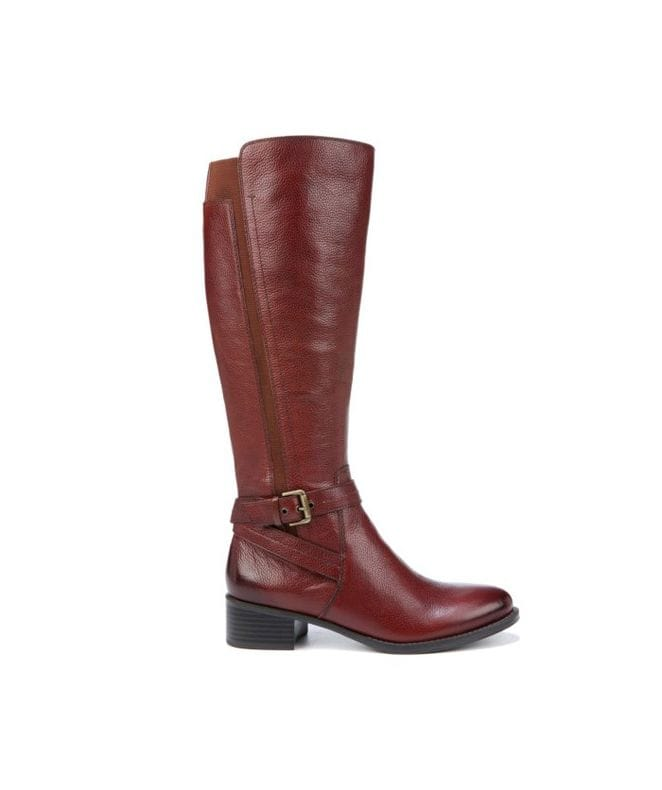 Naturalizer Women's Wynnie Riding Boot in Bridal Brown