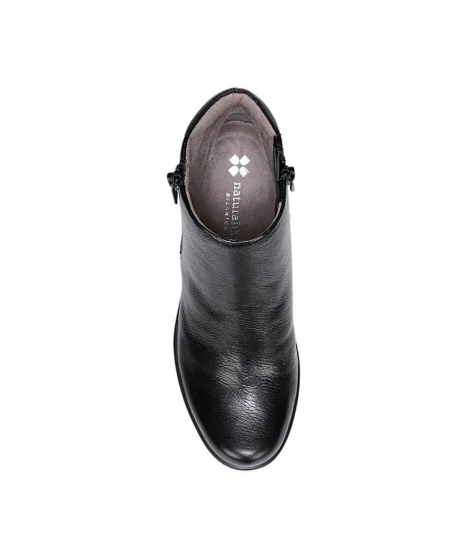 368aca9f0f9 ... Naturalizer Women s Quineta Leather Boot in Black ...