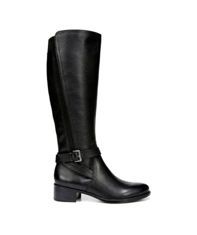 Naturalizer Women's Wynnie Riding Boot in Black