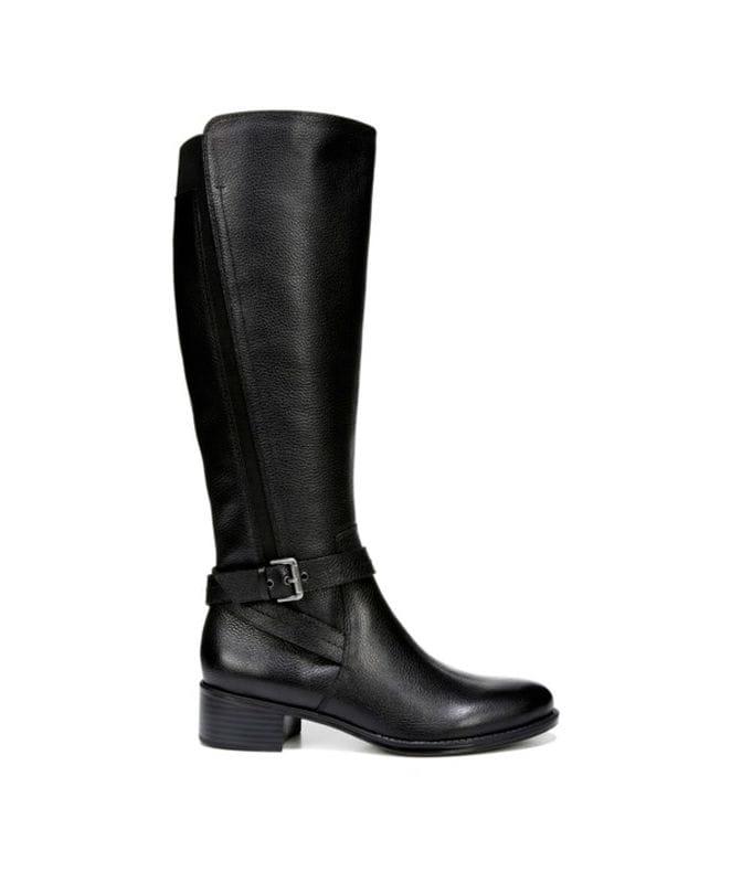 Naturalizer Women's Wynnie Riding Boot in Black