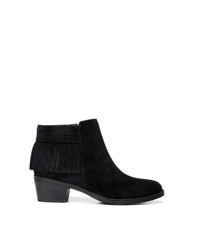 Naturalizer Women's Zeline Ankle Bootie in Black